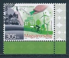UNGARN Mi.NR. 5821 Europa - Umweltbewusst Leben -2016- Used - 2016