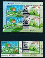 WEIßRUSSLAND Mi.NR. 1109-1110, Block 134 Europa - Umweltbewusst Leben -2016- Used - Europa-CEPT