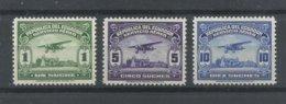 ECUADOR  YVERT  AEREO  127/29   MNH  ** - Ecuador