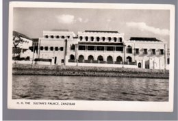 TANZANIA Zanzibar, H.H. The Sultan`s Palace  Old Photo Postcard - Tanzania