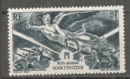 MART - PA  Yt. N°  6   ** MNH    Victoire  Cote  1,4  Euro  TBE   2 Scans - Martinique (1886-1947)