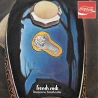 "Telephone + Starshooter 45t. SP ""hygiaphone/betsy Party"" Disque Couleur Pub Coca Cola - Disco, Pop"