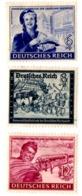 SERIE BOLLI DEUTCHES REICH LINGUELLATI - YT DA 805 A 807 - Duitsland