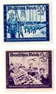 SERIE BOLLI DEUTCHES REICH LINGUELLATI - YT DA 809 A 810 - Duitsland