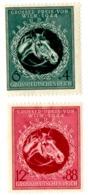 SERIE BOLLI DEUTCHES REICH LINGUELLATI - YT DA 822 A 823 - Duitsland