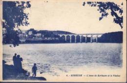 29 LE RELECQ-KERHUON L'anse De Kerhuon Et Le Viaduc ; Chien - Animée - Sonstige Gemeinden