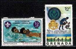 Grenada 1977 - 2 Stamps  MNH - Grenade (1974-...)