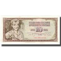 Billet, Yougoslavie, 10 Dinara, KM:82a, SUP - Yougoslavie