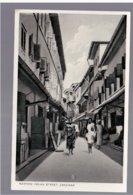 TANZANIA Zanzibar Narrow Indian Street  Old Photo Postcard - Tanzania