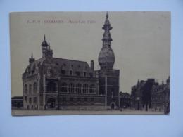 59 COMINES L'Hôtel-de-Ville Beffroi En Réfection Avec échafaudage - Other Municipalities