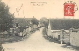 CPA 45 Loiret Chevry Sous Le Bignon Rue Du Bourg - France