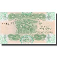 Billet, Iraq, 1/4 Dinar, KM:67a, NEUF - Iraq