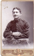 99Db  CDV Soldat Du 7eme Regiment Ph. L. Gaulard à Marseille - Uniformen
