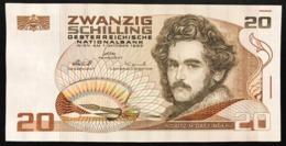 Austria 20 SCHILLING 1986 Spl Lotto 2697 - Austria
