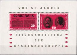 DDR 1966 Mi-Nr. Block 25 ** MNH - [6] Oost-Duitsland