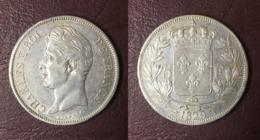 FRANCE - 5 FRANCS Charles X - 1829 T, Nantes - J. 5 Francs