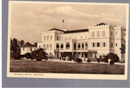 TANZANIA Zanzibar British Residency Old Photo Postcard - Tanzania