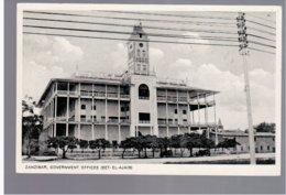 TANZANIA Zanzibar Government Offices (Bet-el-Ajaib) Old Photo Postcard - Tanzania