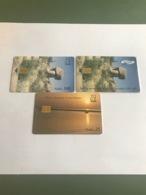 Eritrea - 3 Different Phonecards - Eritrea
