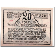 Billet, Allemagne, Schleswig-Holstein, 20 Pfennig, Bateau, 1921, SPL - Andere