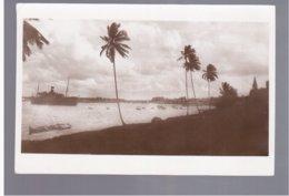 TANZANIA Baie De Dar- Es- Salaam, Base Belge Old Photo Postcard - Tanzania