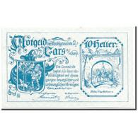 Billet, Autriche, Gars Am Kamp, 10 Heller, Ecusson, 1920, 1920-04-28, SPL - Austria