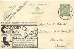 PC Belgium 1935, Couvoir Des Cantines, Chickens, Hatcing Eggs, Poeles, Ouefs A Couver - Bélgica