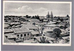 TANZANIA Zanzibar Town View Old Photo Postcard - Tanzania