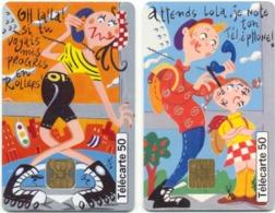 L11a) 2 Télécartes (50) France 1998 - 1998