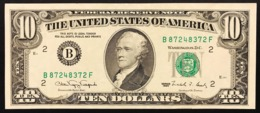 Usa 10 $ Dollar 1990 Lotto 2813 - Nationale Valuta