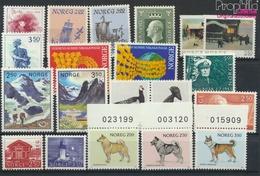 Norwegen Postfrisch Bauwerke 1983 Bauwerke, Hunde, Vögel, Boote U.a.  (9349300 - Norwegen
