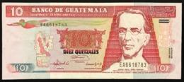 GUATEMALA  10 QUETZALES  1992  Pick#82 Lotto.2882 - Guatemala