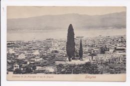 CP TURQUIE SMYRNE Tombeau De St Polycarpe Et Vue De Smyrne - Turquie