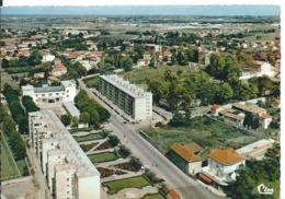 SAINT-PRIEST   (  ISÈRE  )    VUE GÉNÉRALE  AÉRIENNE VERS 1960 - Autres Communes