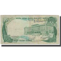 Billet, South Viet Nam, 100 D<ox>ng, KM:31a, TB+ - Viêt-Nam