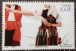 ESPAGNE SPANIEN SPAIN ESPAÑA  2009 POPULAR DANCES: CANARIAN ISA USED ED 4485 YT 4119 MI 4414 SG 4442 SC 3639 - 2001-10 Used