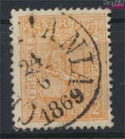 Norwegen 12 Gestempelt 1867 Wappen, Ziffern Links Und Rechts (9349429 - Used Stamps