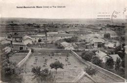 CPA   38   SAINT-BONNET-DE-MURE---VUE GENERALE---1916 - Autres Communes