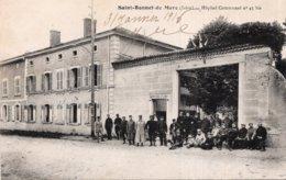 CPA   38   SAINT-BONNET-DE-MURE---HOPITAL COMMUNAL N° 45 Bis---1916---ANIMEE - Autres Communes