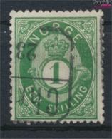 Norwegen 16c Gestempelt 1872 Posthorn (9349421 - Gebraucht