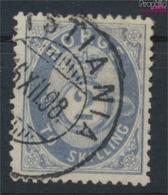 Norwegen 17b Gestempelt 1872 Posthorn (9349416 - Gebraucht