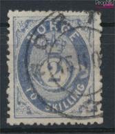 Norwegen 17b Gestempelt 1872 Posthorn (9349418 - Gebraucht