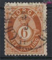 Norwegen 20 Gestempelt 1872 Posthorn (9349414 - Gebraucht