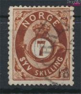 Norwegen 21 Gestempelt 1872 Posthorn (9349412 - Gebraucht