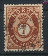 Norwegen 21 Gestempelt 1872 Posthorn (9349413 - Gebraucht
