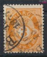 Norwegen 23 Gestempelt 1877 Posthorn (9349410 - Gebraucht