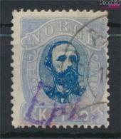 Norwegen 33 Gestempelt 1878 Oskar II. (9349409 - Gebraucht