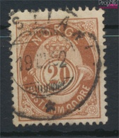 Norwegen 40 Gestempelt 1882 Posthorn (9349407 - Gebraucht