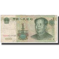 Billet, Chine, 1 Yüan, 1999, KM:895a, B - Chine