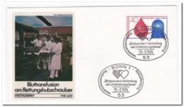 Duitsland 1974, Blood Transfusion At The Rescue Helicopter - Geneeskunde